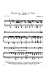 Rejoice, Give Thanks, And Sing Sheet Music Sheet Music