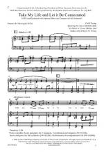 Take My Life And Let It Be Consecrated Sheet Music Sheet Music
