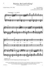 Rejoice, The Lord Is King! Sheet Music Sheet Music