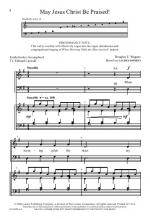 Christians, We Have Come To Worship (Set II) Six Festive Opening Sentences for SATB and Handbells Sh Sheet Music