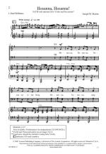 Hosanna, Hosanna! Sheet Music Sheet Music