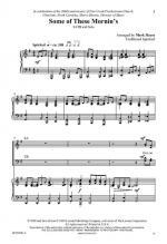 Some Of These Mornin's Sheet Music Sheet Music
