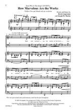How Marvelous Are The Works Sheet Music Sheet Music