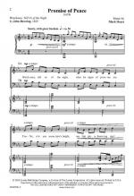 Promise Of Peace Sheet Music Sheet Music