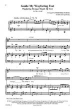 Guide My Wayfaring Feet Wayfaring Stranger/Guide My Feet Sheet Music