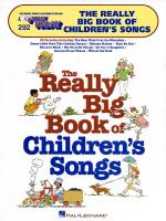 The Really Big Book Of Children's Songs E-Z Play Today Volume 292 Sheet Music