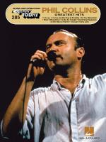 Phil Collins Greatest Hits E-Z Play Today Volume 285 Sheet Music