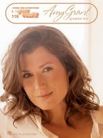 Amy Grant - Greatest Hits E-Z Play Today Volume 116 Sheet Music