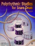 Polyrhythmic Studies for Snare Drum - Book Sheet Music