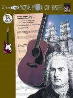 Your Pick of Bach (Selected Solos and Duets Arranged for Pickstyle Guitar) - Book & CD Sheet Music