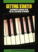 Getting Started For All Electronic Keyboards Sheet Music