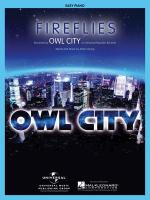 Fireflies Easy Piano Sheet Music Sheet Music