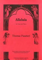 Alleluia - For Voice And Piano PIANO REDUCTION/VOCAL SCORE Sheet Music