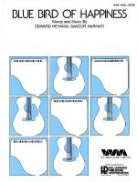 Bluebird Of Happiness Sheet Music Sheet Music