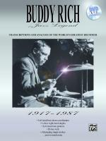 Buddy Rich: Jazz Legend (1917-1987) (Transcriptions and Analysis of the World's Greatest Drummer) -  Sheet Music
