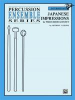 Japanese Impressions (For Percussion Quintet) - Book Sheet Music