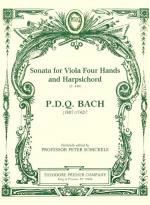 Sonata For Viola Four Hands And Harpsichord - SET OF PARTS Sheet Music
