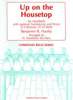 Up On The Housetop - For Handbells With Optional Tambourine And Drum (3-5 Octaves, 21-25 Bells) SCOR Sheet Music