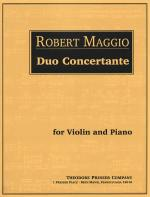 Duo Concertante - For Violin And Piano SCORE AND PART(S) Sheet Music