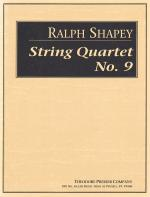 String Quartet Number 9 - Score FULL SCORE - LARGE Sheet Music