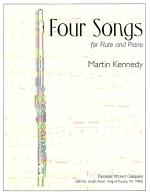Four Songs - For Flute And Piano SOLO PART WITH PIANO REDUCTION Sheet Music