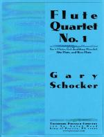 Flute Quartet Number 1 - For 2 Flutes (First Doubling Piccolo), Alto Flute And Bass Flute SCORE AND  Sheet Music