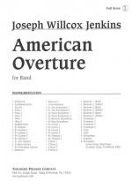 American Overture For Band - For Band Opus 13 SCORE AND PART(S) Sheet Music