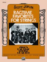 Ragtime Favorites for Strings - Book Sheet Music