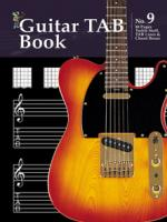 Manuscript Book 9 - Guitar Tab Book Sheet Music