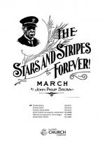 The Stars And Stripes Forever - March PART(S) Sheet Music