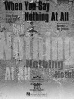 When You Say Nothing At All Sheet Music Sheet Music