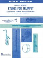 Etudes For Trumpet Orchestra Etudes And Last Etudes Sheet Music