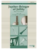 Jupiter (Bringer of Jollity) - Conductor Score & Parts Sheet Music
