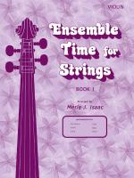 Ensemble Time for Strings Book 1 Sheet Music