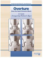 Overture from the Royal Fireworks Music - Conductor Score & Parts Sheet Music