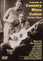 Legends of Country Blues Guitar Volume Three DVD (Blues Up the Country) Sheet Music