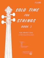 Solo Time For Strings, Book 3 Sheet Music