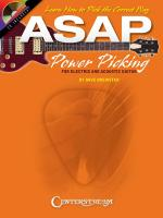 Asap Power Picking For Electric And Acoustic Guitars Sheet Music
