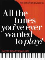 All The Tunes You've Ever Wanted To Play! Piano Solo Sheet Music