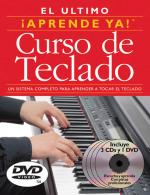 Aprende Ya! Curso De Teclado 3 Books/3 CDs/1 DVD Boxed Set Sheet Music