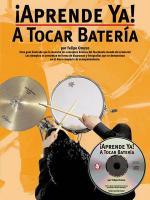 Aprende Ya: A Tocar Bateria Sheet Music