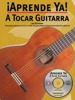 Aprende Ya!-A Tocar Guitarra Sheet Music
