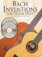 Bach Inventions For Guitar Duet Sheet Music