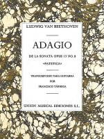 Adagio De La Sonata Opus 13 Number 8 Sheet Music
