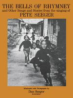 The Bells Of Rhymney And Other Songs And Stories From Pete Seeger Sheet Music