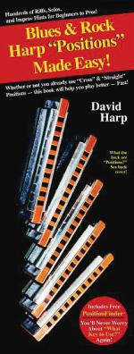 Blues & Rock Harp Positions Made Easy Compact Reference Library Sheet Music