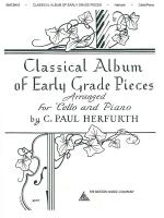Classical Album Of Early Grade Pieces For Cello And Piano Sheet Music