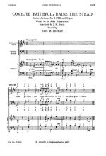 Come, Ye Faithful, Raise The Strain Sheet Music Sheet Music