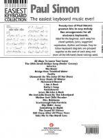 Paul Simon - Easiest Keyboard Collection Sheet Music