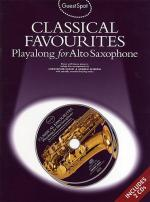 Classical Favorites Playalong For Alto Saxophone Guest Spot Series Sheet Music